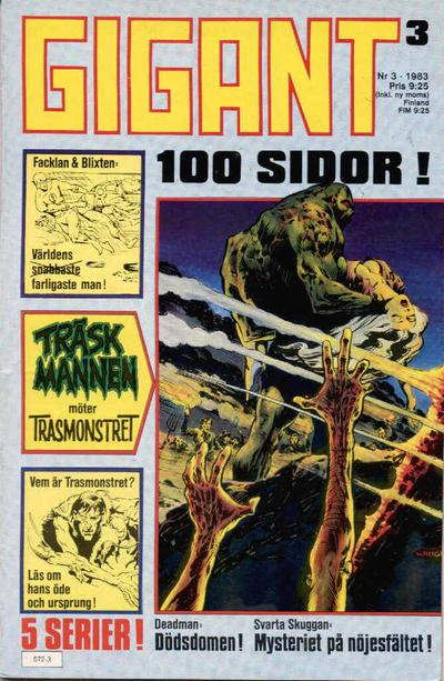 Cover for Gigant (Semic, 1976 series) #3/1983