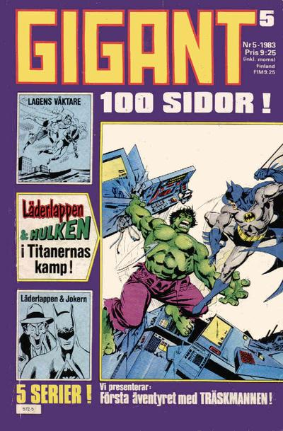 Cover for Gigant (Semic, 1976 series) #5/1983