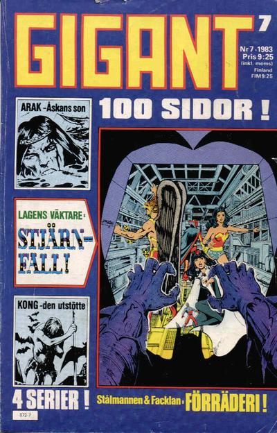 Cover for Gigant (Semic, 1976 series) #7/1983