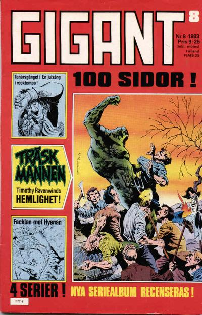 Cover for Gigant (Semic, 1976 series) #8/1983