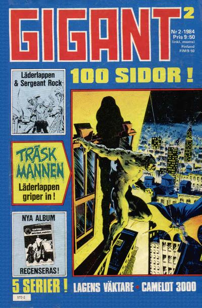 Cover for Gigant (Semic, 1976 series) #2/1984