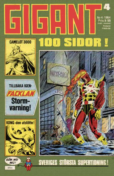 Cover for Gigant (Semic, 1976 series) #4/1984