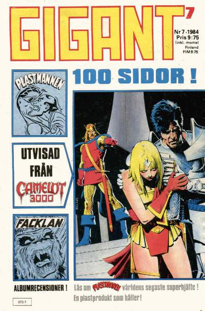 Cover for Gigant (Semic, 1976 series) #7/1984
