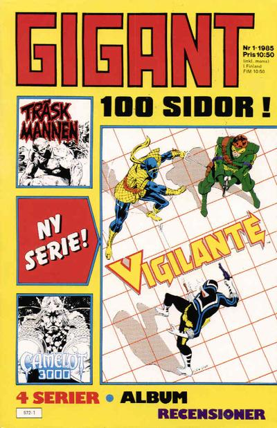 Cover for Gigant (Semic, 1976 series) #1/1985