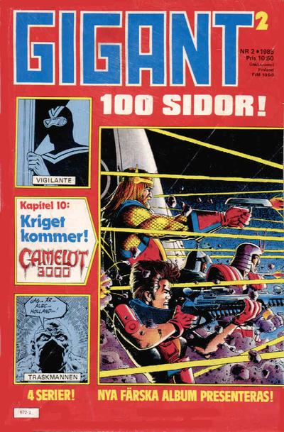Cover for Gigant (Semic, 1976 series) #2/1985