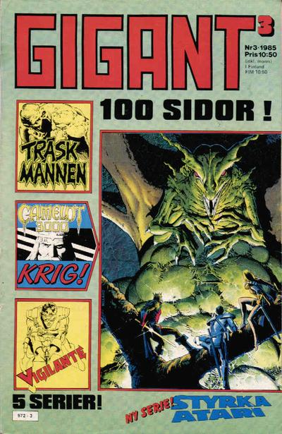 Cover for Gigant (Semic, 1976 series) #3/1985