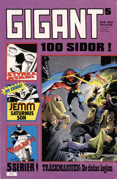 Cover for Gigant (Semic, 1976 series) #5/1985