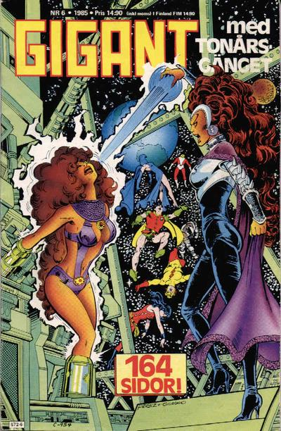 Cover for Gigant (Semic, 1976 series) #6/1985