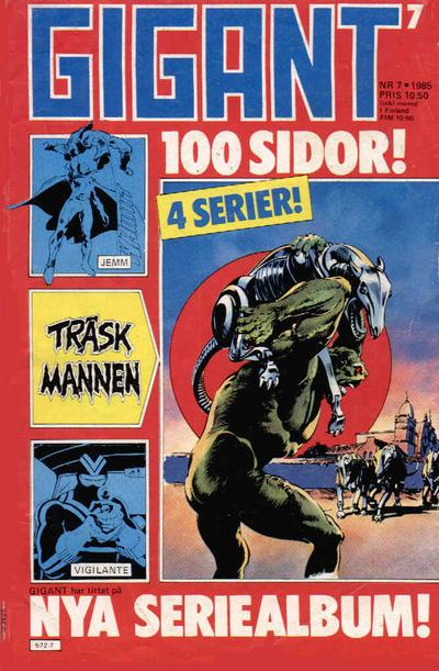 Cover for Gigant (Semic, 1976 series) #7/1985