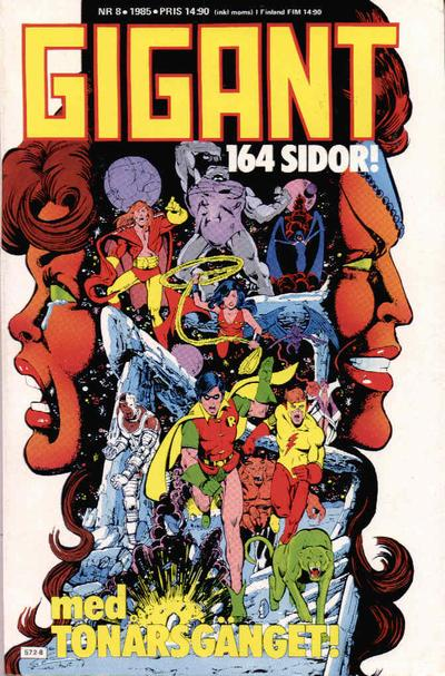 Cover for Gigant (Semic, 1976 series) #8/1985