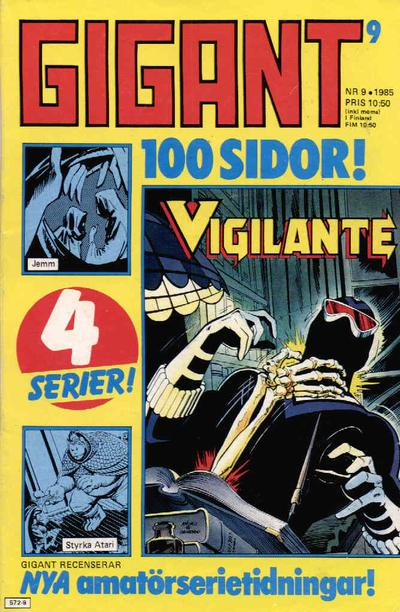 Cover for Gigant (Semic, 1976 series) #9/1985