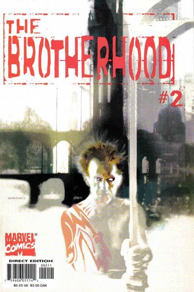 Cover for The Brotherhood (Marvel, 2001 series) #2 [J. G. Jones Cover]