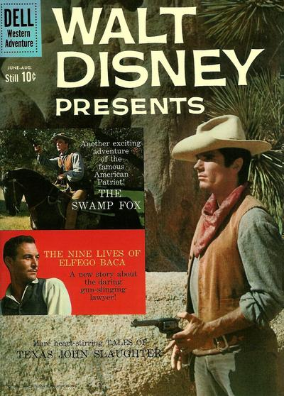 Cover for Walt Disney Presents (Dell, 1959 series) #4