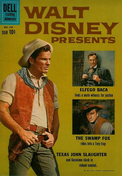 Cover for Walt Disney Presents (Dell, 1959 series) #6