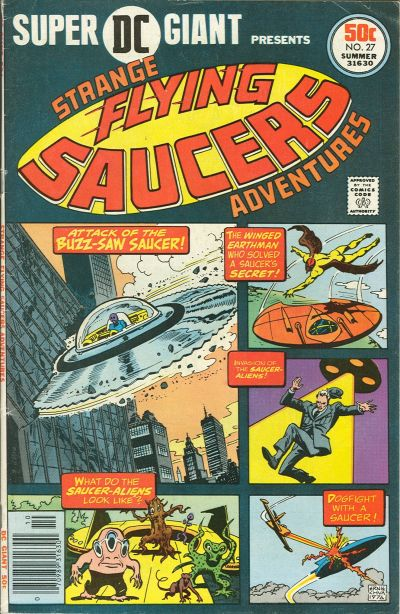 Cover for Super DC Giant (DC, 1970 series) #27