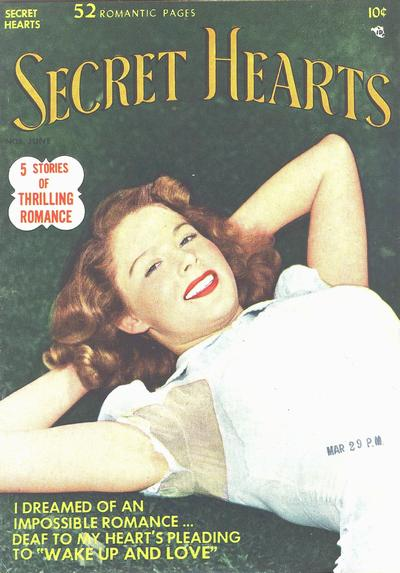 Cover for Secret Hearts (DC, 1949 series) #5
