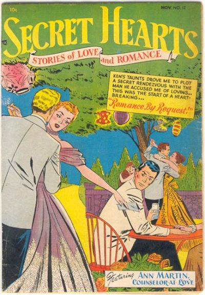 Cover for Secret Hearts (DC, 1949 series) #12
