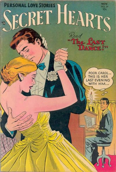 Cover for Secret Hearts (DC, 1949 series) #24
