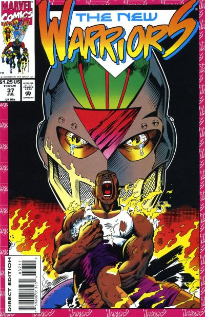 Cover for The New Warriors (Marvel, 1990 series) #37