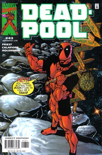 Cover for Deadpool (Marvel, 1997 series) #43 [Direct Edition]