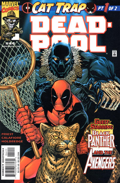 Cover for Deadpool (Marvel, 1997 series) #44 [Direct Edition]