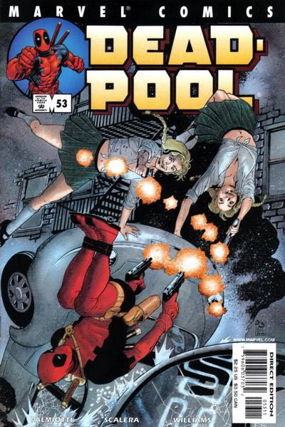 Cover for Deadpool (Marvel, 1997 series) #53 [Direct Edition]