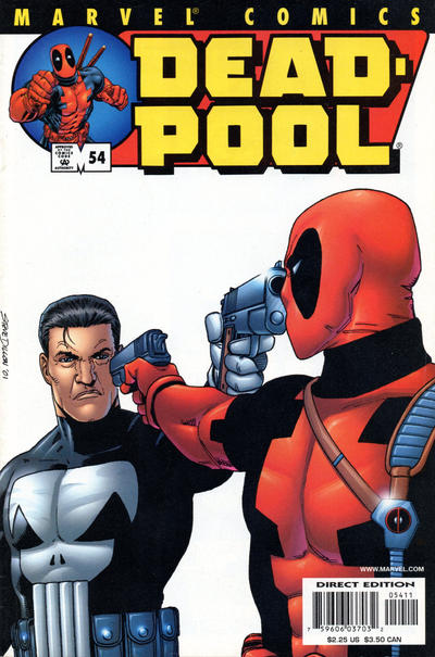 Cover for Deadpool (Marvel, 1997 series) #54 [Direct Edition]