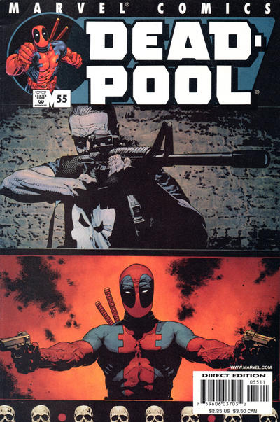 Cover for Deadpool (Marvel, 1997 series) #55 [Direct Edition]