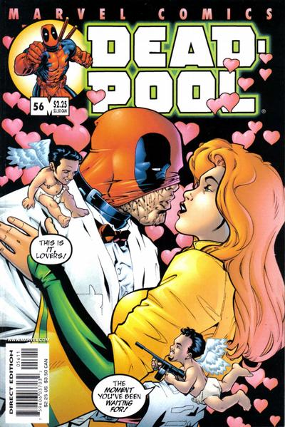 Cover for Deadpool (Marvel, 1997 series) #56 [Direct Edition]