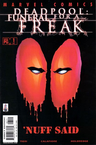 Cover for Deadpool (Marvel, 1997 series) #61 [Direct Edition]