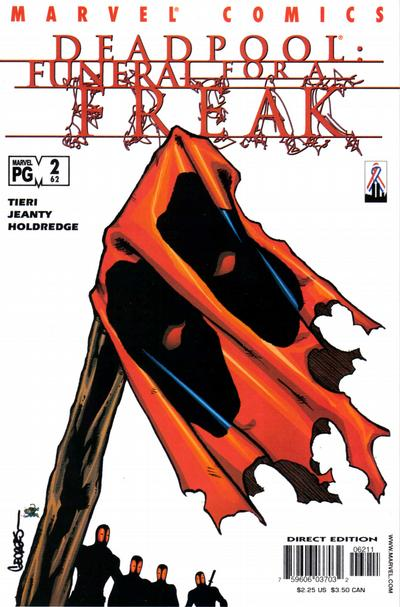 Cover for Deadpool (Marvel, 1997 series) #62 [Direct Edition]