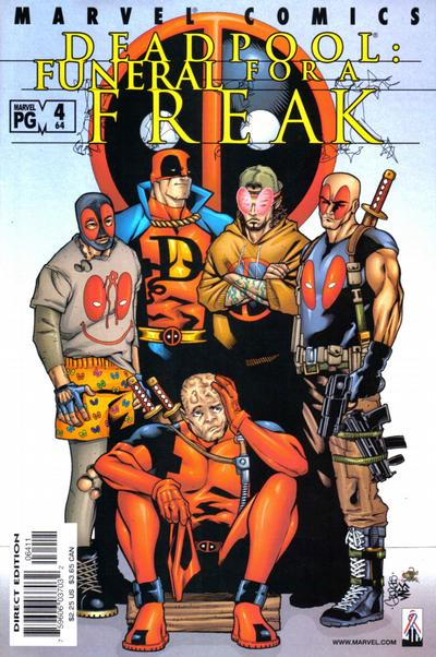 Cover for Deadpool (Marvel, 1997 series) #64 [Direct Edition]