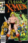 Cover for Classic X-Men (Marvel, 1986 series) #21 [Newsstand Edition]
