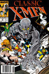 Cover for Classic X-Men (Marvel, 1986 series) #22 [Newsstand]