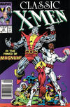 Cover for Classic X-Men (Marvel, 1986 series) #25 [Newsstand Edition]