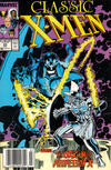 Cover Thumbnail for Classic X-Men (1986 series) #23 [Newsstand Edition]