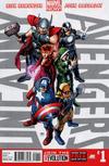 Cover for Uncanny Avengers (Marvel, 2012 series) #1