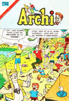 Cover for Archi (Editorial Novaro, 1956 series) #635