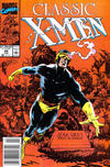 Cover Thumbnail for Classic X-Men (1986 series) #44 [Newsstand Edition]