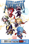 Cover for Uncanny Avengers (Marvel, 2012 series) #1 [Skottie Young Baby Variant]
