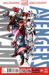 Cover for Uncanny Avengers (Marvel, 2012 series) #1 [Avengers Variant]