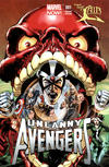 Cover for Uncanny Avengers (Marvel, 2012 series) #1 [The Lair Color Variant]