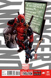 Cover for Uncanny Avengers (Marvel, 2012 series) #1 [Deadpool Variant]