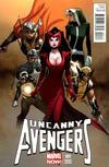Cover for Uncanny Avengers (Marvel, 2012 series) #1 [Olivier Coipel Variant]
