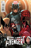 Cover for Uncanny Avengers (Marvel, 2012 series) #1 [Sara Pichelli retailer incentive variant]