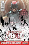 Cover for Uncanny Avengers (Marvel, 2012 series) #1 [Special NYCC Retailer Exclusive]