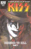 Cover Thumbnail for Kiss (2012 series) #1 [Cover RI-A by Michael Gaydos]