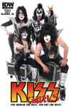 Cover Thumbnail for Kiss (2012 series) #5 [Cover RI-A - Photo (band photo)]