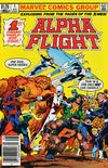 Cover for Alpha Flight (Marvel, 1983 series) #1 [Canadian]