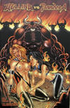 Cover Thumbnail for Hellina vs Pandora (2003 series) #2 [Hilinski adult cover]